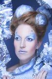 Glace-reine. Image libre de droits
