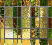 Glace souillée Image stock