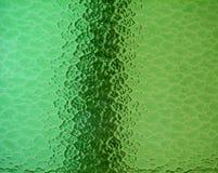 Glace souillée de vert Photographie stock