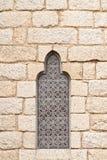 Glace souillée gothique Image libre de droits