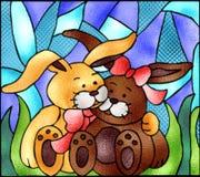Glace souillée Pâques motrice Illustration de Vecteur