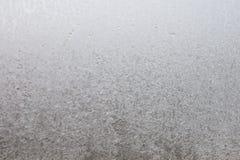 Glace sur la glace d'hublot Photos libres de droits