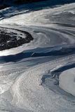 Glace sur le lac Image stock
