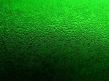 Glace verte avec les baisses 2 photographie stock