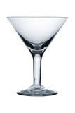 Glace vide de martini photographie stock libre de droits