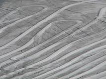 glaceir ślady Zdjęcie Royalty Free