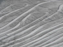 glaceirtrails Royaltyfri Foto