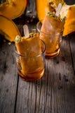 Glaces à l'eau de crème glacée de potiron Image stock