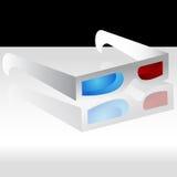 glaces 3D Photographie stock