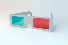 glaces 3D. Photos libres de droits