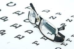 Glaces avec le diagramme d'oeil i photos libres de droits