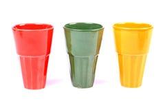 Glaces colorées Photo libre de droits