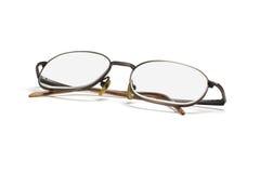 Glaces d'oeil de trame en métal Photo stock