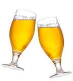 Glaces de bière Photo stock