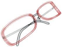 Glaces de câble conceptuelles Photo libre de droits