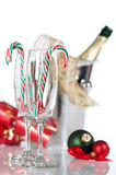 Glaces de Champagne Photographie stock