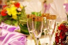 Glaces de Champagne Image stock