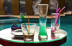 Glaces de cocktail image stock