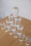 Glaces de l'eau Photos stock