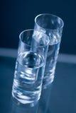 Glaces de l'eau Image stock