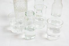 Glaces de l'eau Photographie stock
