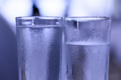 Glaces de l'eau Photo stock
