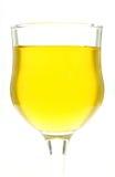 Glaces de l'eau une couleur jaune Photo libre de droits