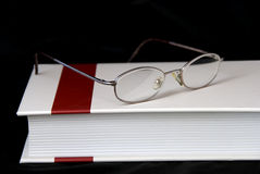 glaces de livre Photographie stock