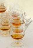 Glaces de renifleur avec l'eau-de-vie fine Image stock