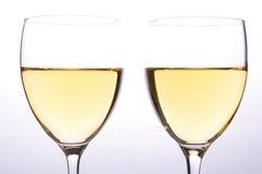Glaces de vin Photos libres de droits