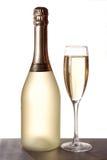 glaces deux de champagne Images libres de droits