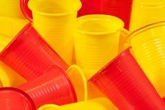 Glaces en plastique Image stock