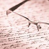 Glaces et lettre photo libre de droits