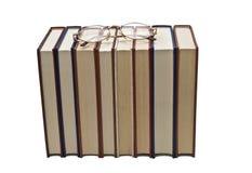 Glaces sur quelques livres. photos libres de droits