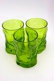 Glaces vertes Photo libre de droits
