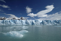 glaciär royaltyfri bild