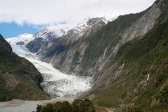 glaciär Arkivfoto