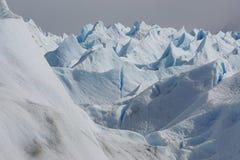 glaciär Fotografering för Bildbyråer