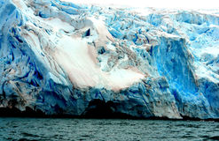 Glaciär Antarktis Royaltyfria Foton
