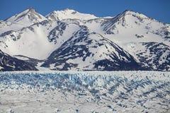 Glaciär Chile. Royaltyfri Foto