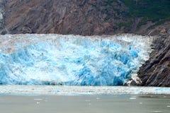 Glaciär i Alaska Arkivfoto