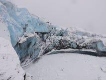 Glaciär i Alaska Fotografering för Bildbyråer