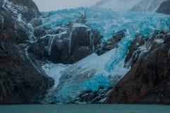 Glaciär i det Fitz Roy Mountain området, Argentina Royaltyfri Foto