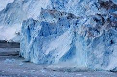 Glaciär i Grönland 4 Arkivbild
