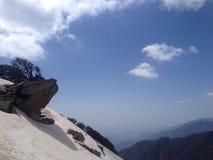 Glaciär i Himachal Pradesh, Dharamsala Arkivbilder