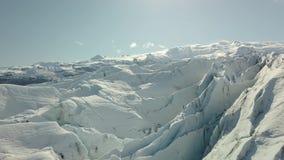 glaciär iceland lager videofilmer