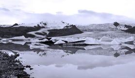 glaciär iceland Royaltyfri Fotografi