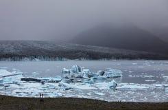 glaciär iceland royaltyfri foto