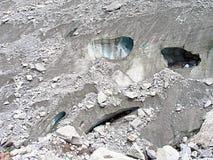 Glaciär Mer de Glace Royaltyfri Bild