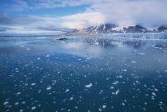 glaciär monaco Royaltyfri Fotografi